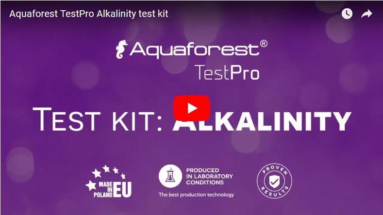 Vídeo test alcalinidad