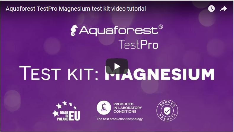 Vídeo test magnesio